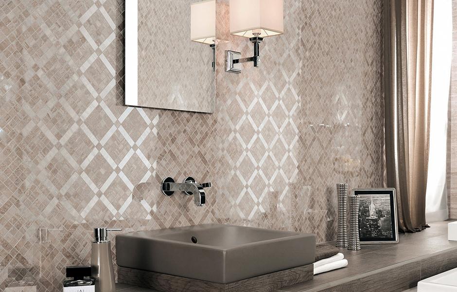 Мозаика для ванной <br>комнаты  в Ижевске